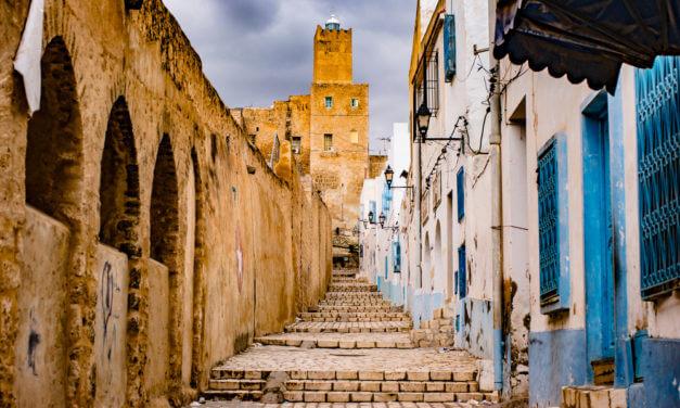 Český národní stánek na stavebním veletrhu MEDIBAT v Tunisku