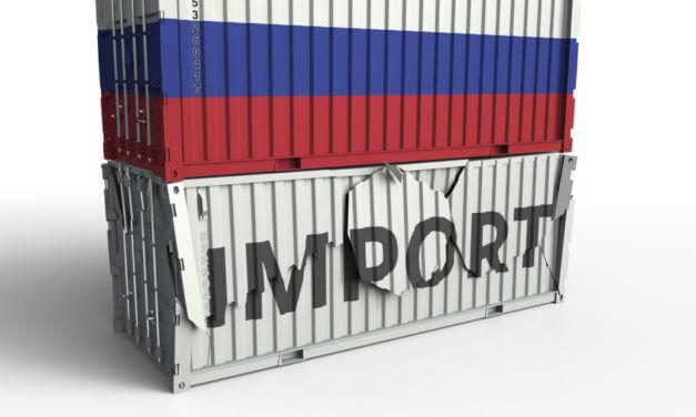 RUSKO ZAVÁDÍ POVINNÉ ZNAČENÍ ZBOŽÍ Z DOVOZU