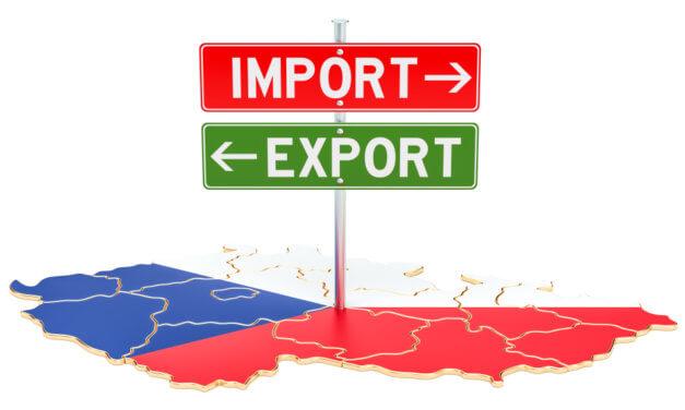 Český vývoz zboží roste