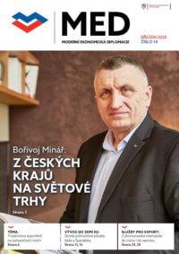 Titulní strana časopisu MED, vydání č. 14