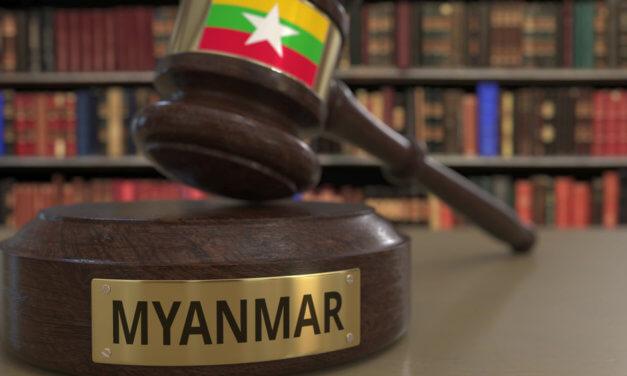 MYANMAR POSILUJE BOJ PROTI PRANÍ ŠPINAVÝCH PENĚZ
