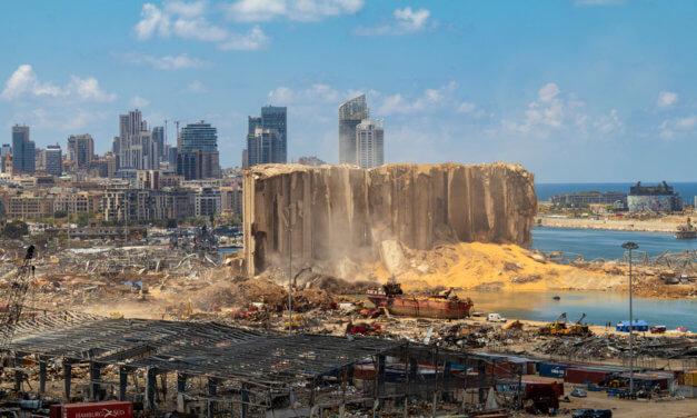 LIBANON CHYSTÁ VYPSÁNÍ TENDRU NA OBŘÍ SILO