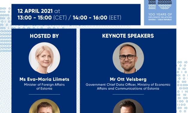 Virtuální česko-estonské obchodní fórum k umělé inteligenci a e-Governance