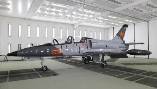 ČESKÉ FIRMY MODERNIZUJÍ LETOUNY L-39 V KAZACHSTÁNU
