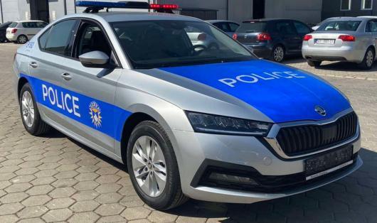 KOSOVSKÁ POLICIE ZÍSKALA NOVÉ VOZY ŠKODA OCTAVIA